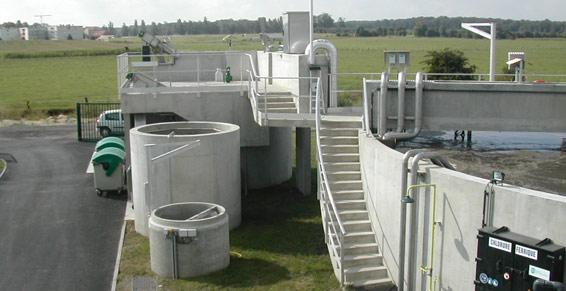 Station d'épuration - Dieuz