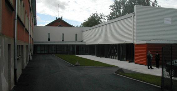 Gymnase et salles technologiques - Moussey