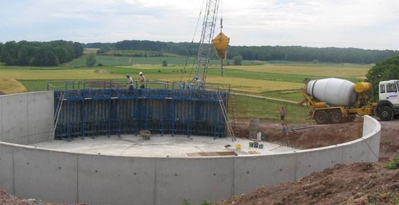 Constructions et installations agricoles - Fosse à lisier